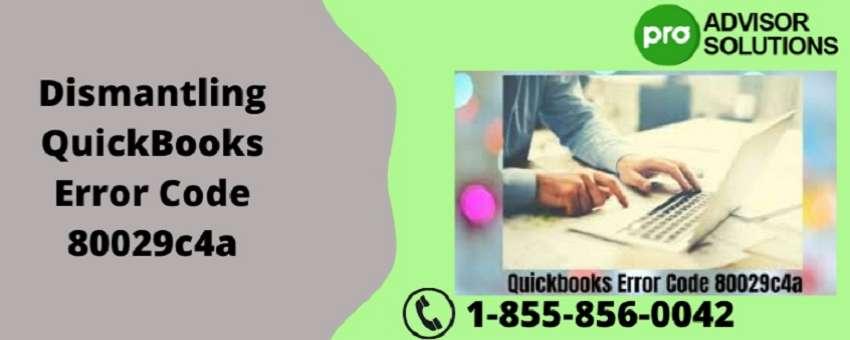 Dismantling QuickBooks Error Code 80029c4a   By Peter Adams