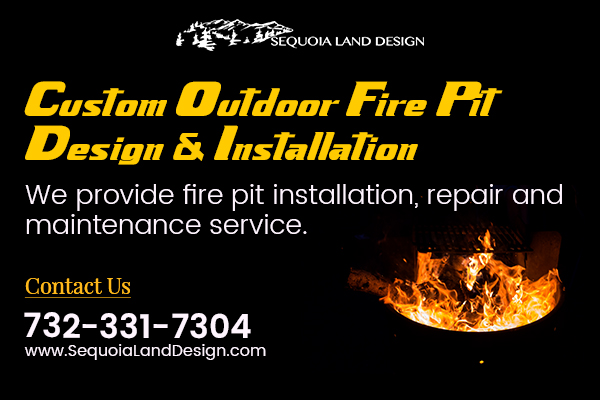 Outdoor Gas Fire Pit Edison