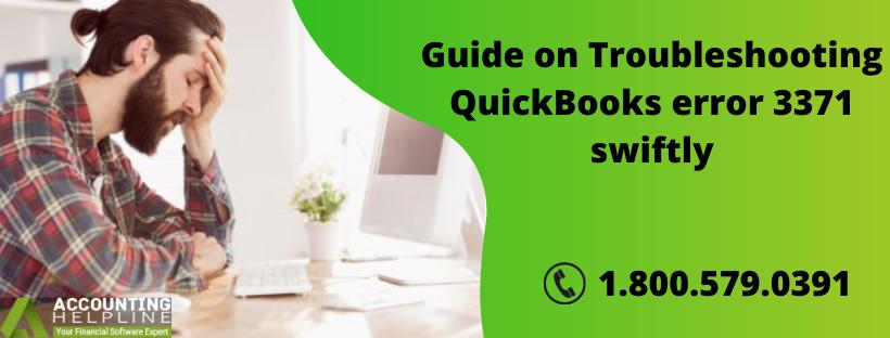 Complete procedure to remove QuickBooks Error 3371